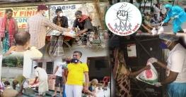 করোনাযুদ্ধে সাধারণ মানুষের পাশে যুবলীগ