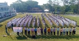মাদক প্রতিরোধে ৭০০ শিক্ষার্থীর শপথ