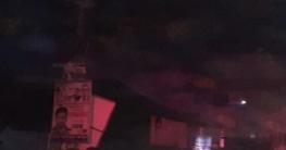 কানাইপুর বাজারে আগুনে পুড়ল ২৫ দোকান