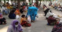 ৪০০ পরিবারকে খাদ্যসামগ্রী পৌঁছে দিলো যুবলীগ