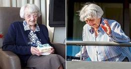 করোনায় সংক্রমিত হয়ে সুস্থ হলেন১০৭ বছর বয়সী বৃদ্ধা
