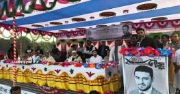 বিশাল জনসভায় সুযোগ চাইলেন সুদর্শন শেখ তন্ময়
