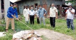 গোপালগঞ্জে লক্ষাধিক টাকার কারেন্ট জাল ধ্বংস