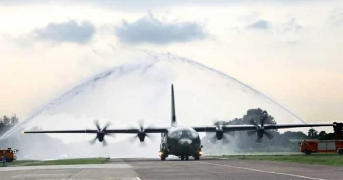 বিমান বাহিনীর কেনা সি-১৩০ জে বিমান দেশে পৌঁছেছে