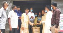 টুঙ্গিপাড়ায় আজ হতে কৃষকদের থেকে বোরো ধান সংগ্রহ শুরু
