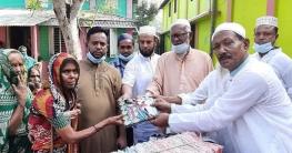 মুকসুদপুরের গোহালায় ৫শতাধিক মানুষ পেলো ঈদ উপহার
