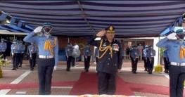 টুঙ্গিপাড়ায় বঙ্গবন্ধুর সমাধিতে বিমান বাহিনী প্রধানের শ্রদ্ধা