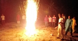 ইসরাইলের যুদ্ধবিরতির ঘোষনায় কোটালীপাড়ায় আতশবাজি ফোটিয়ে উল্লাস