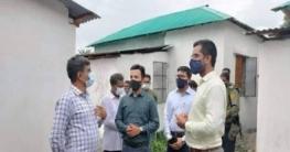 মুকসুদপুরে গৃহহীনদের জন্য ঘর নির্মাণ প্রকল্প পরিদর্শন