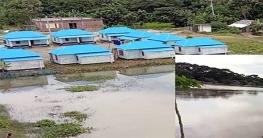 গোপালগঞ্জের নিম্নাঞ্চল প্লাবিত ভোগান্তিতে আশ্রয়ণবাসী