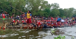 ঐতিহ্যবাহী নৌকাবাইচে মুগ্ধ কোটালীপাড়া